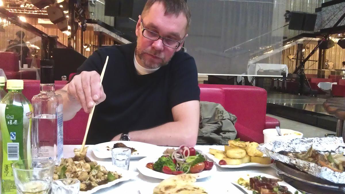 Завтрак в ночном клубе Максим