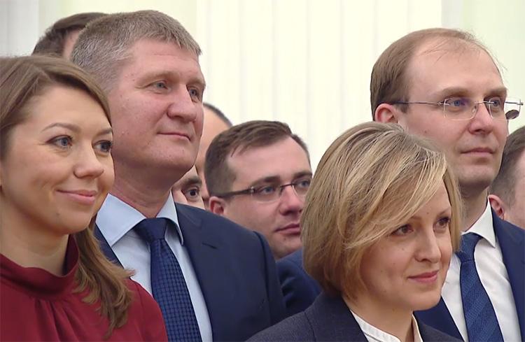 Шарыпов в Кремле